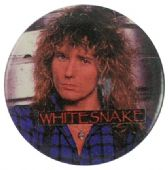 Whitesnake - 'Dave Blue Shirt' Button Badge